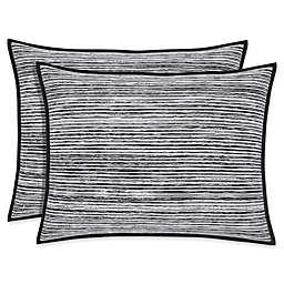 Oscar/Oliver Flen Pillow Sham in Black