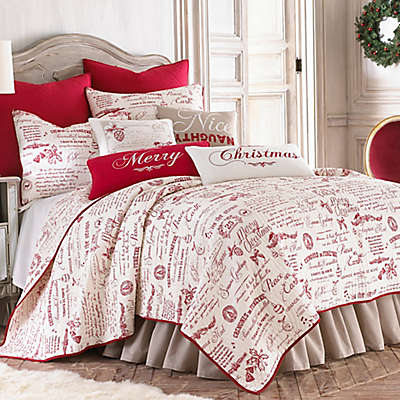 Levtex Home Merry Way Reversible Quilt Set