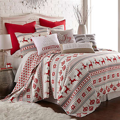 Levtex Home Snowflake Reversible Quilt Set