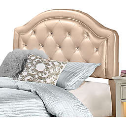Hillsdale Karley Twin Headboard with Frame in Champagne