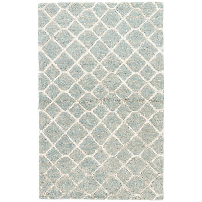 Alternate image 1 for Jaipur Totten 8-Foot x 10-Foot Area Rug in Blue
