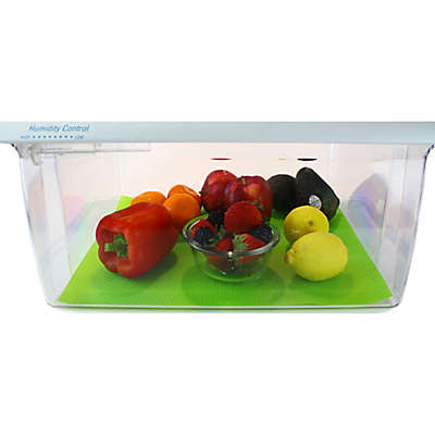 Fruit Fresh™ 2-Pack Refrigerator Liner in Green
