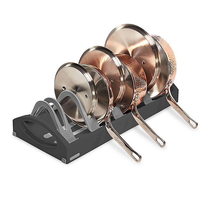 Alternate image 1 for madesmart® Expandable Cookware Stand in Granite