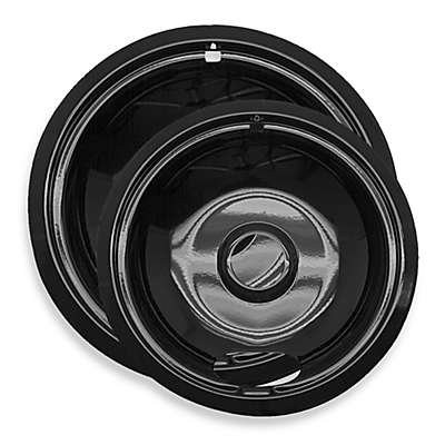Range Kleen® 2-Pack Style A Porcelain Drip Pan