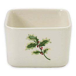 Precious Moments® Holly Appetizer and Dip Serving Bowl
