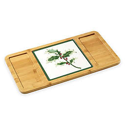 Precious Moments® 2-Piece Serving Tray with Holly Cutting Board