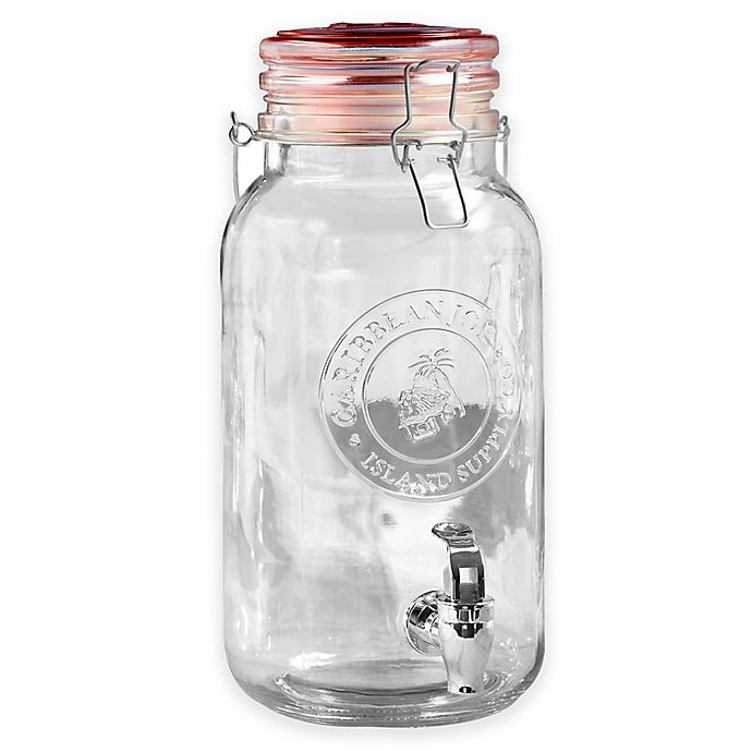 Alternate image 1 for Style Setter 1-Gallon Embossed Beverage Dispenser