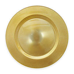 Charge It by Jay 13-Inch Sunray Charger Plate in Gold