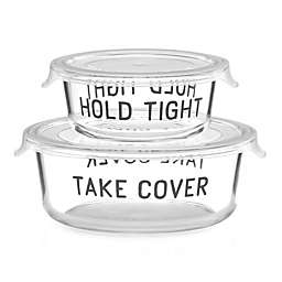 kate spade new york All in Good Taste™ 2-Piece Covered Food Storage Set