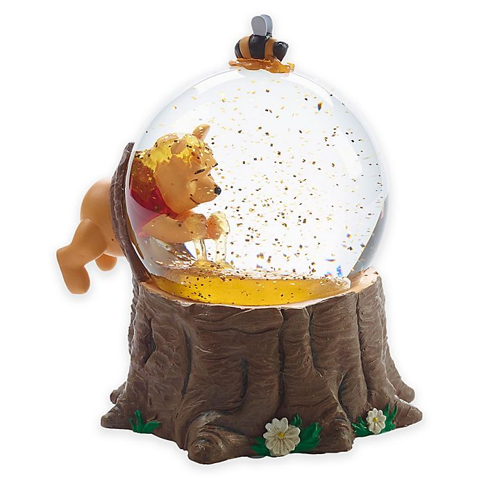 Alternate image 1 for Precious Moments For The Love of Hunny Pooh Musical Snow Globe