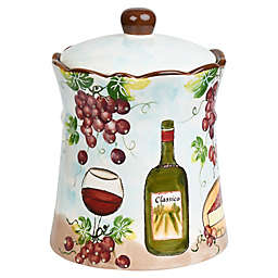 Lorren Home Trends Purple Grape Cookie Jar