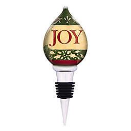 Ne'Qwa Christmas Joy Wine Stopper