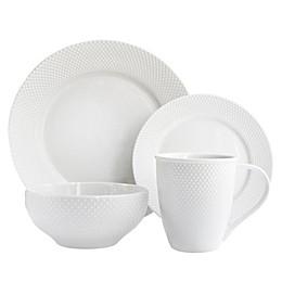 American Atelier Chloe 16-Piece Dinnerware Set in White