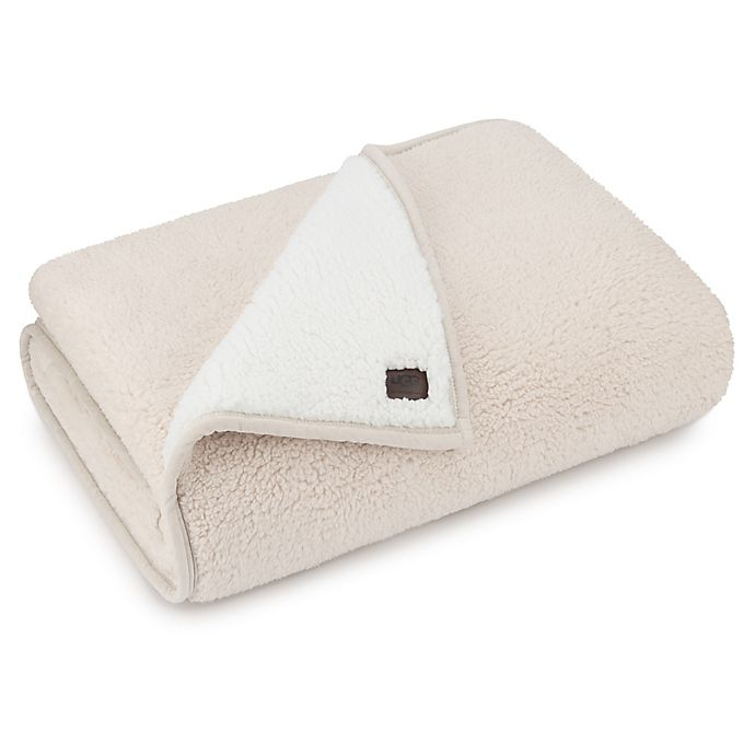 Alternate image 1 for UGG® Classic Sherpa Throw Blanket in Ceramic