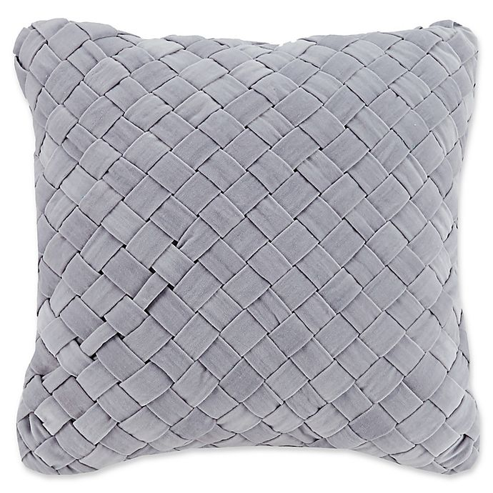 Alternate image 1 for Vera Bradley® Woven Velvet Square Throw Pillow
