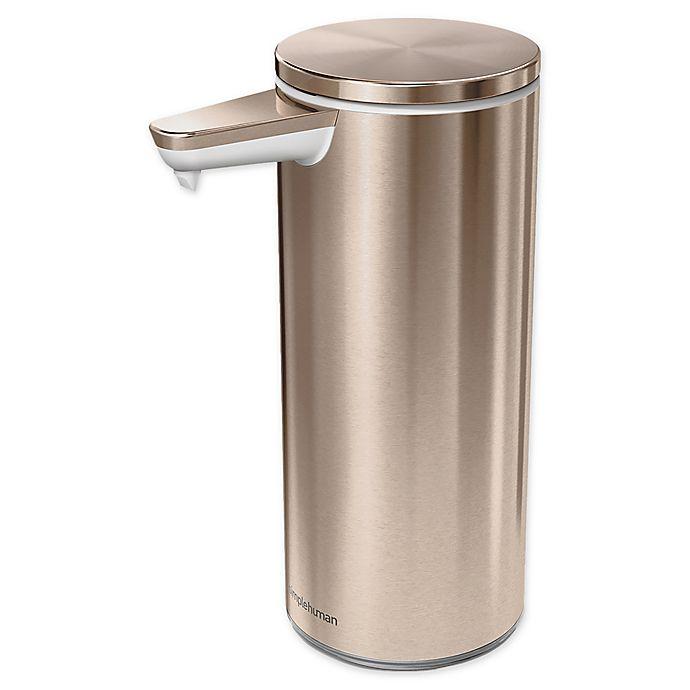 Simplehuman 174 Rechargeable Sensor Soap Pump Bed Bath Amp Beyond