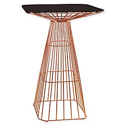 Abbyson Living® Taylor Iron Bar Table in Rose Gold