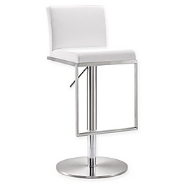 TOV Furniture Amalfi Steel Adjustable Bar Stool