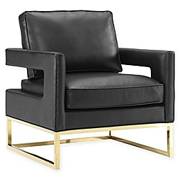 TOV Furniture Avery Leather Club Chair