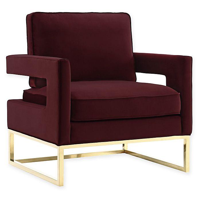 Alternate image 1 for TOV Furniture Avery Velvet Club Chair