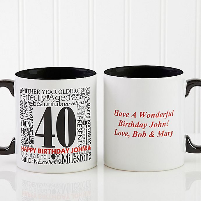 Alternate image 1 for Another Year Has Gone By Personalized Coffee Mug
