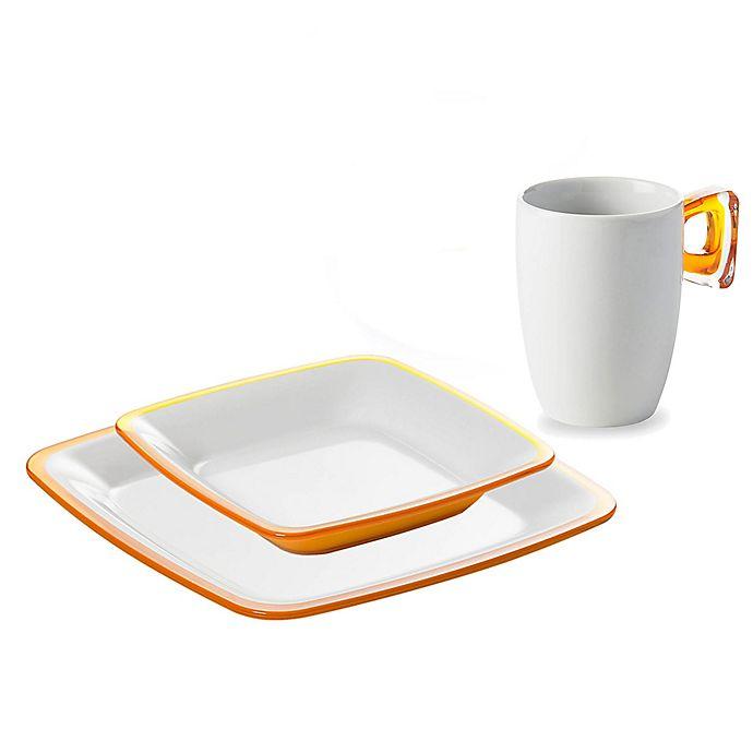 Alternate image 1 for Omada® Adamo Dinnerware Collection in Yellow