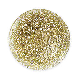 Charge It by Jay! Bombay Glass Charger Plate