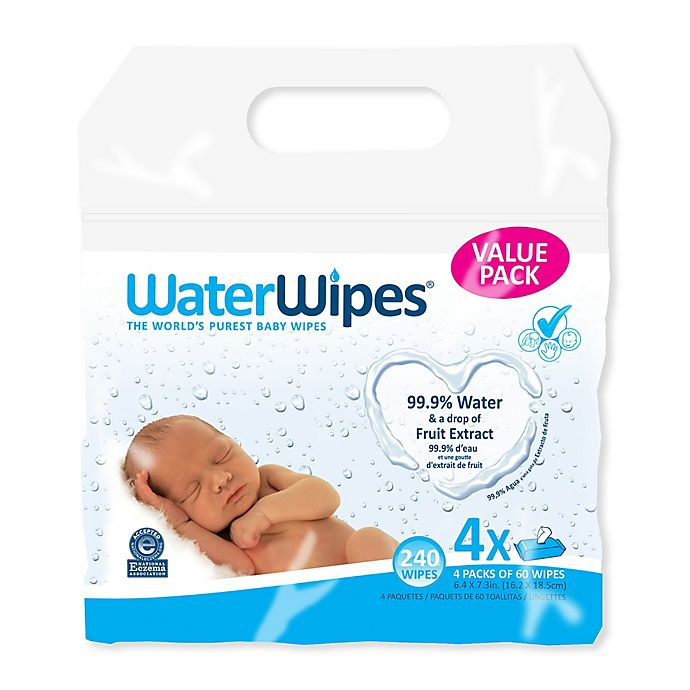 Alternate image 1 for WaterWipes® 240-Count Baby Wipes