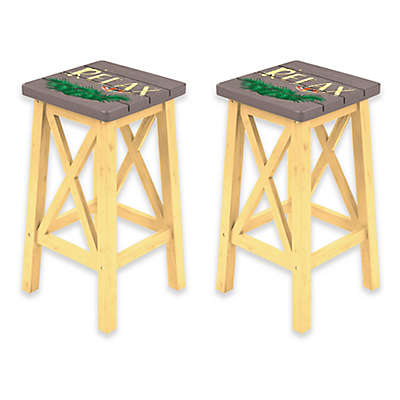 Margaritaville® Relax Bar Stools in Grey/Yellow (Set of 2)