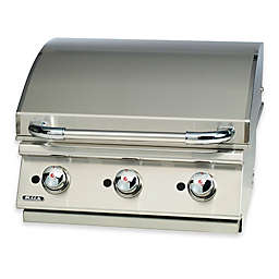 BULL® Built-In 3-Burner Natural Gas Griddle in Stainless Steel