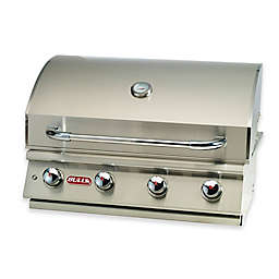 BULL® Lonestar Select 4-Burner Natural Gas Drop-In Grill in Stainless Steel