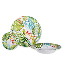 Shady Palms Melamine Dinnerware Collection