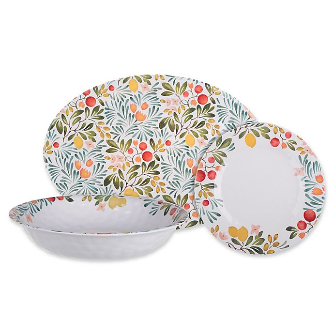 Alternate image 1 for Country Orchard Melamine Dinnerware Collection