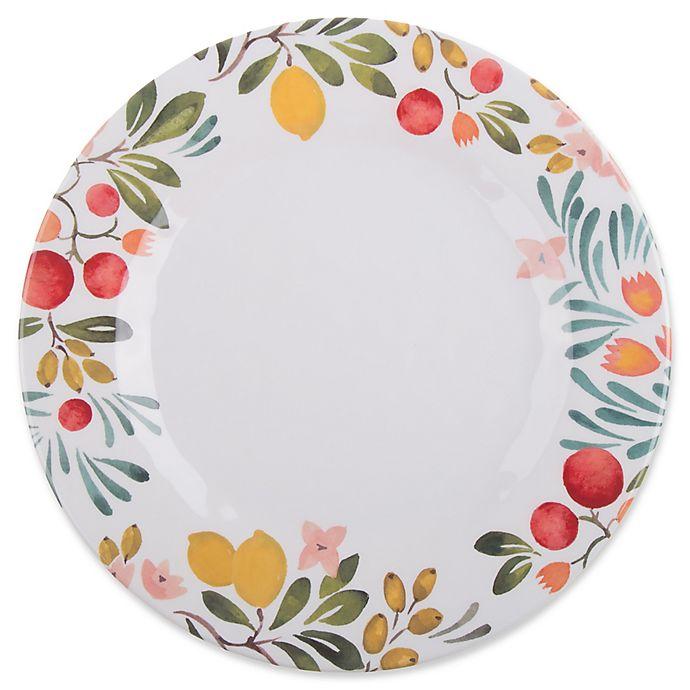 Alternate image 1 for Country Orchard Melamine Dinner Plate