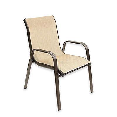 Never Rust Aluminum Kid's Sling Chair in Bronze