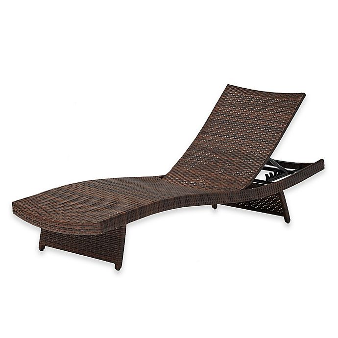 Buy Destination Summer Pool Chaise Lounge In Bronze From