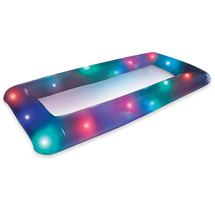 Alternate image 1 for LED Inflatable Buffet with Remote Control in White