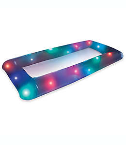 Hielera inflable con luces LED