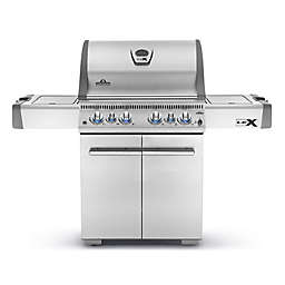 Napoleon LEX485 6-Burner Propane Gas Grill with Infrared Side and Rear Burners in Stainless Steel