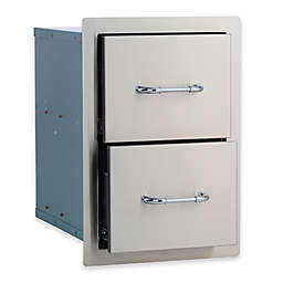BULL® Double Drawer in Stainless Steel
