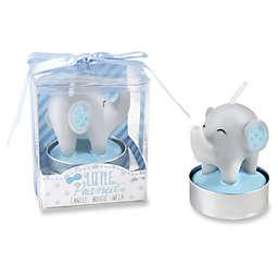 Kate Aspen® Little Peanut Elephant Tealight Candles in Blue (Set of 12)