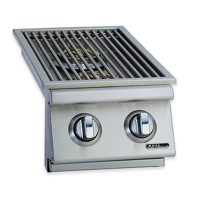 BULL® Side-In Double Side Burner for Natural Gas Grill in
