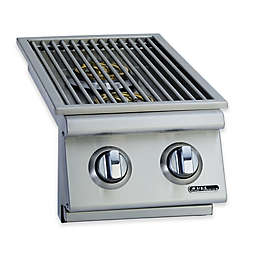BULL® Side-In Double Side Burner for Natural Gas Grill in Stainless Steel