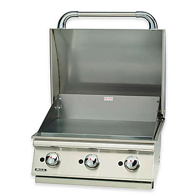 BULL® Outlaw 4-Burner Natural Gas Drop-In Grill in Stainless Steel