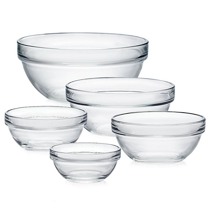 Alternate image 1 for Luminarc Stackable Glass Bowl Collection