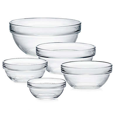 Luminarc Stackable Glass Bowl Collection