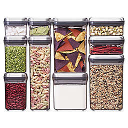 OXO Good Grips® 10-Piece Food Storage Pop Container in Stainless Steel