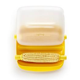 Lékué 6-Piece Microwave Corn Cooker Set in Yellow