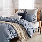 DKNYpure Stripe Full/Queen Duvet Cover in Blue