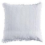DKNYpure Stripe European Pillow Sham in Blue